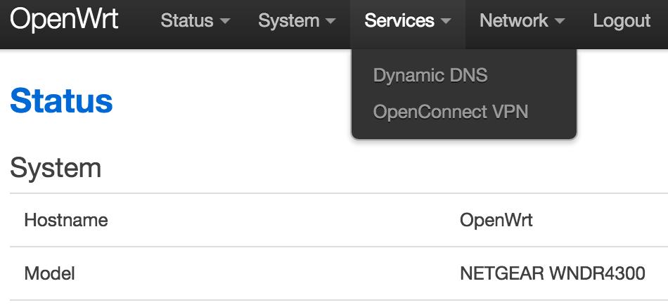 在OpenWrt 上搭建OpenConnect (ocserv) 服务器| Tommy 的自留地